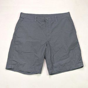 "Columbia Washed Out 10"" Mens Size 36 Gray Shorts"